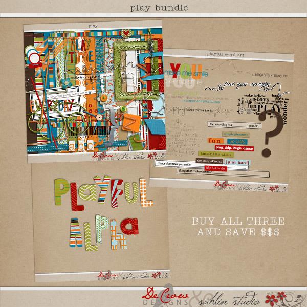 Play: Bundle by DeCrow Designs and Sahlin Studio