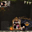 digital scrapbooking layout featuring Mansion Masquerade by Britt-ish Designs, DeCrow Designs, Sahlin Studio and Tangie Baxter