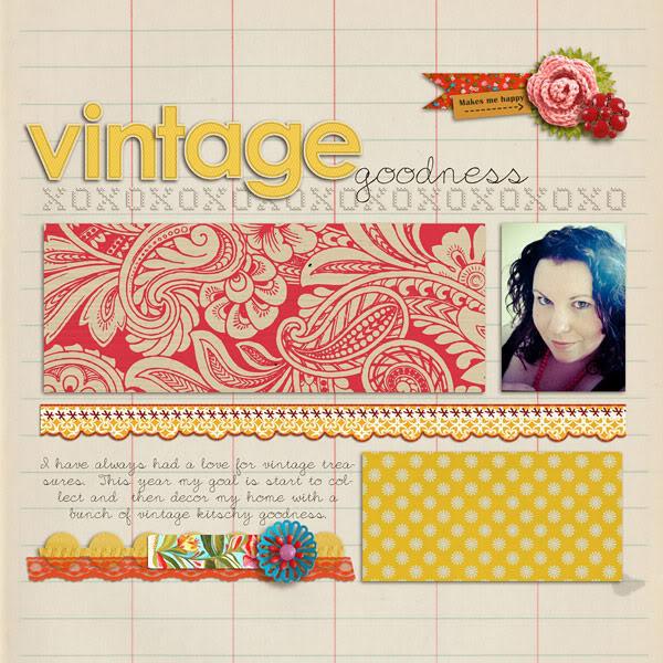 "Digital Scrapbook page created by jennbarrette featuring ""Grandma's Dresser"" by Sahlin Studio"