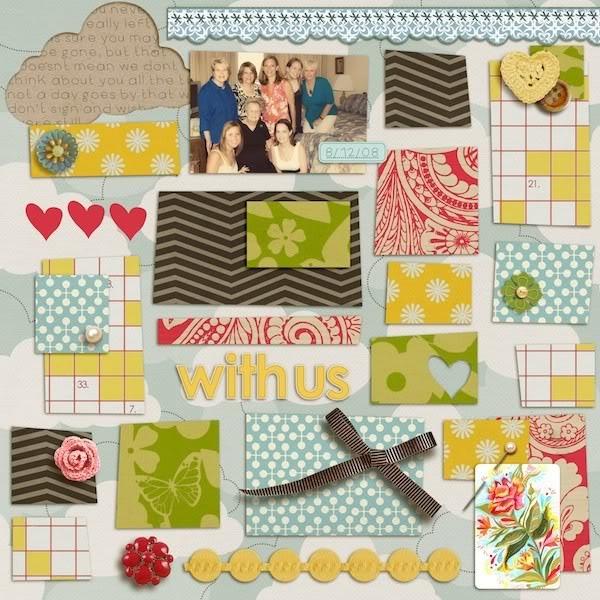 "Digital Scrapbook page created by talktoheather featuring ""Grandma's Dresser"" by Sahlin Studio"
