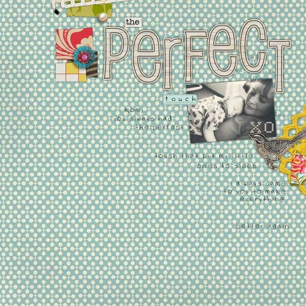 "Digital Scrapbook page created by valoriewibbens featuring ""Grandma's Dresser"" by Sahlin Studio"