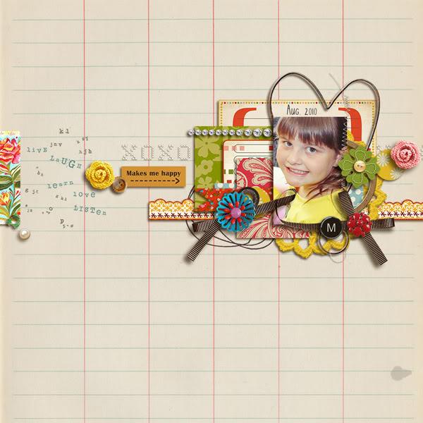 "Digital Scrapbook page created by kimbytx featuring ""Grandma's Dresser"" by Sahlin Studio"