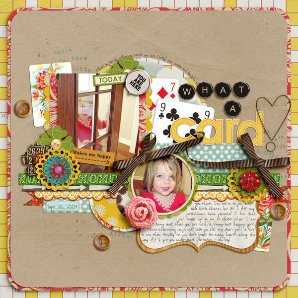 "Digital Scrapbook page created by norton94 featuring ""Grandma's Dresser"" by Sahlin Studio"
