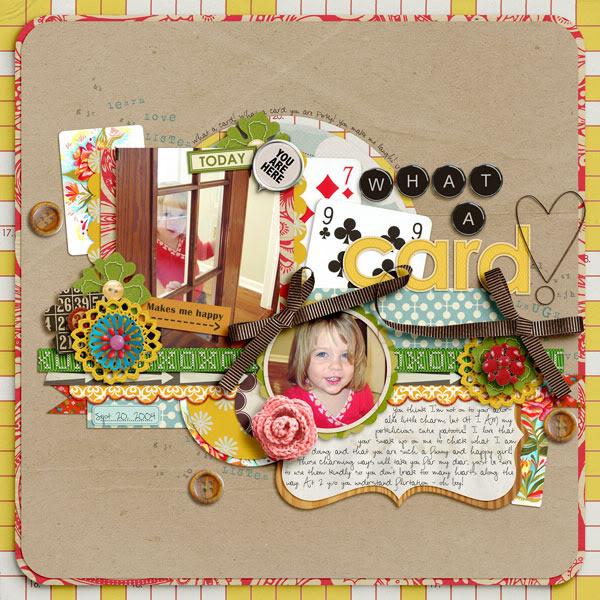 "Digital Scrapbook page created by norton94 featuring ""Grandma's Dresser"" by Sahlin Studio"