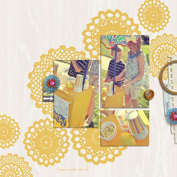"Digital Scrapbook page created by kristasahlin featuring ""Grandma's Dresser"" by Sahlin Studio"