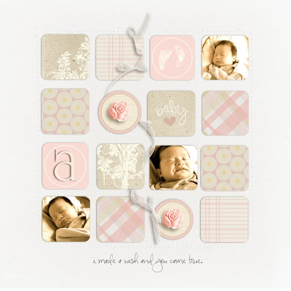 """Digital Scrapbook page created by kateypie featuring """"I'll Love You Forever"""" by Sahlin Studio"""