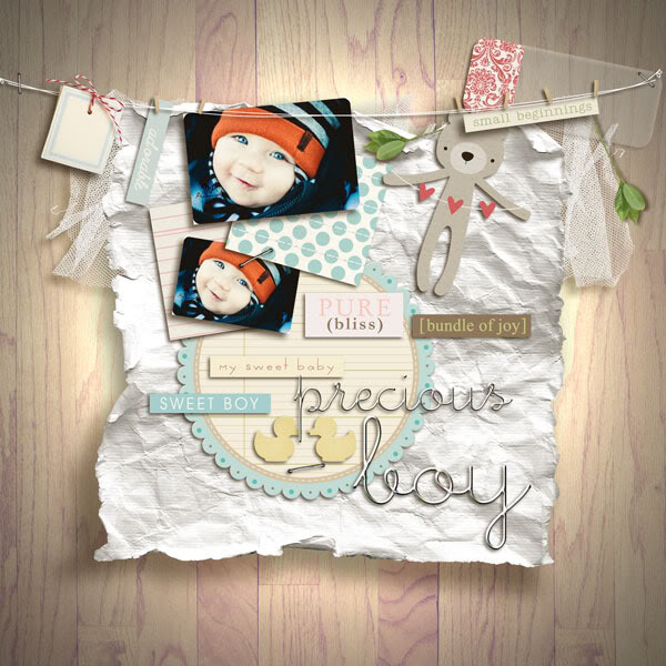 """Digital Scrapbook page created by juhh featuring """"I'll Love You Forever"""" by Sahlin Studio"""