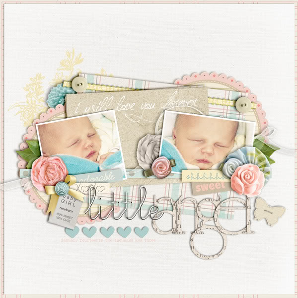 """Digital Scrapbook page created by cindys732003 featuring """"I'll Love You Forever"""" by Sahlin Studio"""