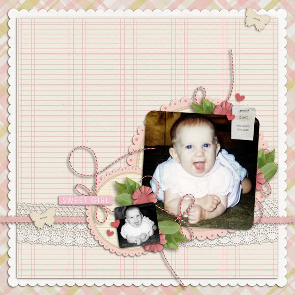 """Digital Scrapbook page created by yzerbear19 featuring """"I'll Love You Forever"""" by Sahlin Studio"""
