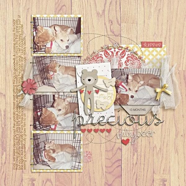 """Digital Scrapbook page created by breeoxd featuring """"I'll Love You Forever"""" by Sahlin Studio"""