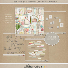 I'll Love You Forever (Entire Collection) by Sahlin Studio