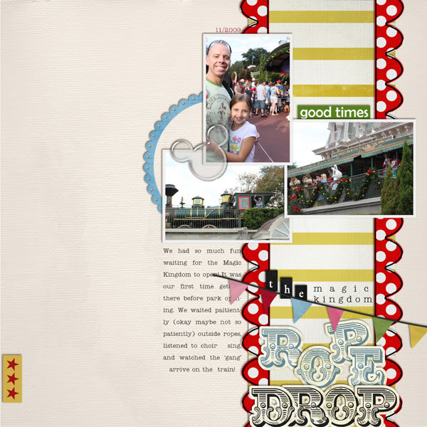 Digital Scrapbook page created by cnscrap featuring Enjoy the Moment by Sahlin Studio