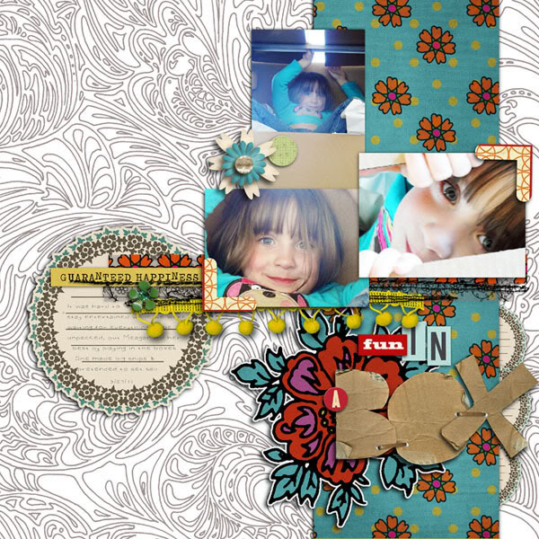 Digital Scrapbook page created by rebeccah featuring Art  and Soul by Sahlin Studio
