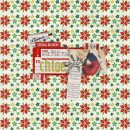 layout featuring Kitschy Christmas Journalers by Sahlin Studio