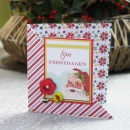 card featuring Kitschy Christmas Collection by Jennifer Barrette and Sahlin Studio