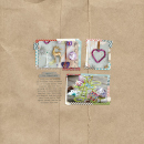 layout by liahra featuring Brown Paper Packages (Papers) and Washi Tape Strips by Sahlin Studio