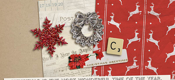 Kitschy Christmas Freebie by Sahlin Studio