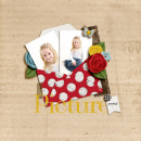 layout by becca1976 featuring Precocious by Sahlin Studio and Precocious Paper