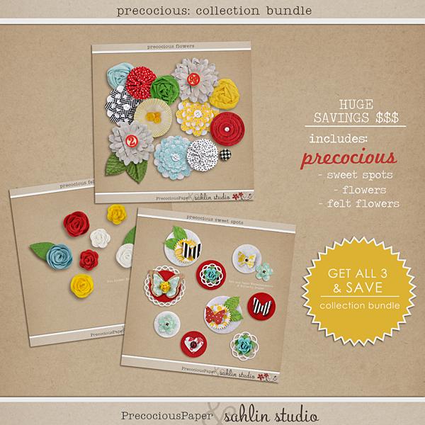 Precocious Bundle by Precocious Paper and Sahlin Studio