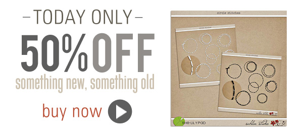 50% OFF Circle Stitches by Sahlin Studio