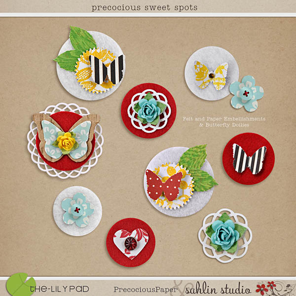 precocious sweet spots by sahlin studio