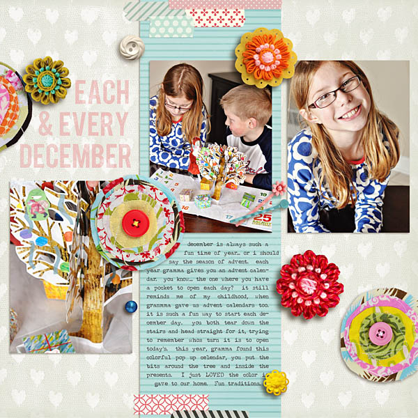 march template sample-example layout
