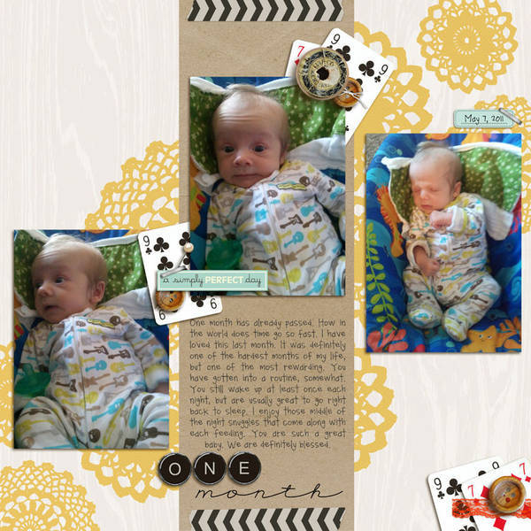 One Month by mcalleigh