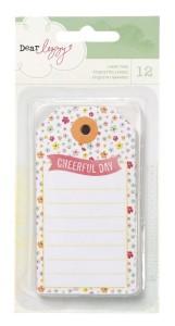 Dear Lizzy Neapolitan tags by American Crafts