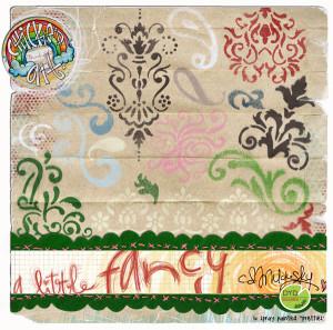 Graffiti Spray: A Little Fancy by CD Muckosky