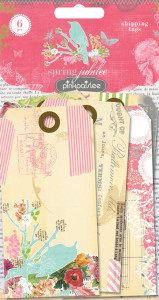 Spring Jubilee Shipping Tags by Pink Paislee