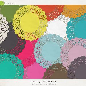 Doily Junkie by Valorie Wibbens