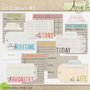 Jot it Down 3 by Amy Wolff