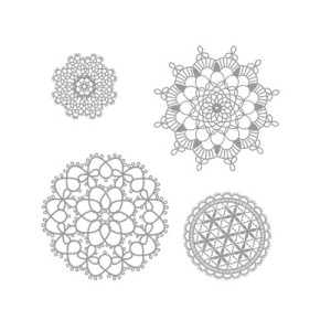 doily stamps by Stampin Up