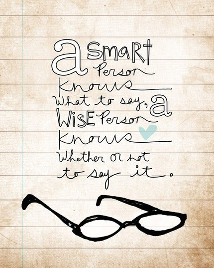 a smart person - inspirational words