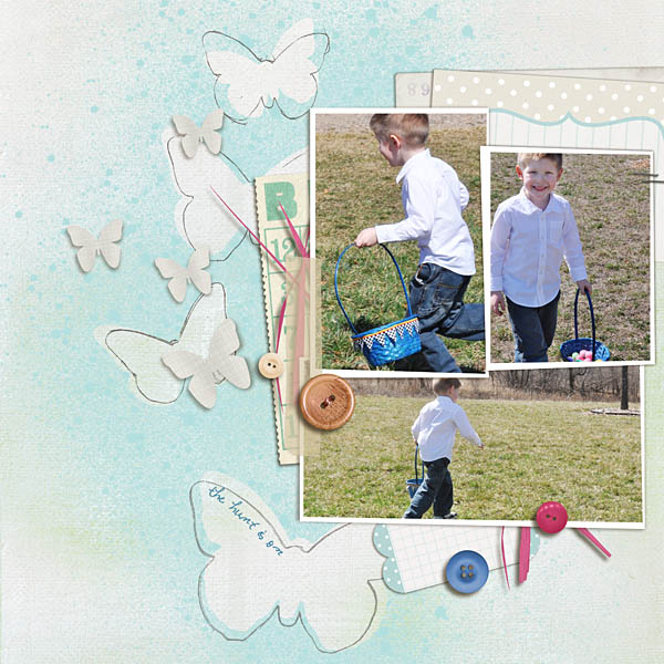 Inspirational Scrapbook Layout