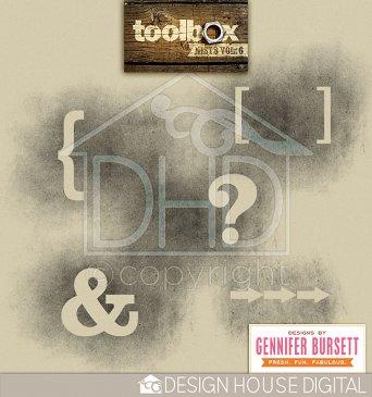 Toolbox - Mists Vol. 6 by By Gennifer Bursett