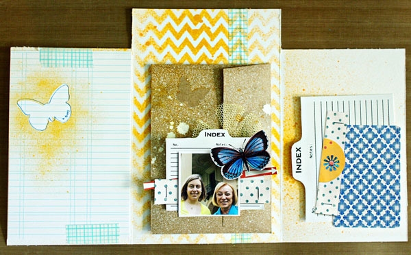 hybrid scrapbook inspiration