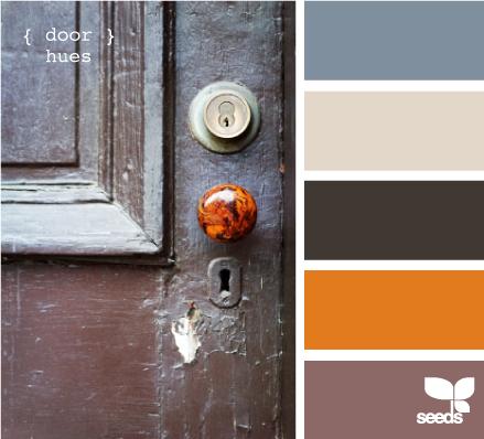 Door Hues color inspiration