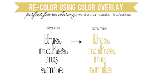 Tutorial | How to Re-Color Using Color Overlay