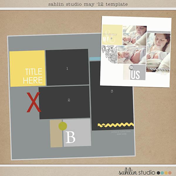 may 2012 template freebie by sahlin studio