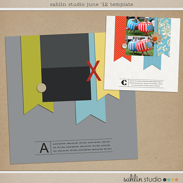 june 2012 template freebie by sahlin studio