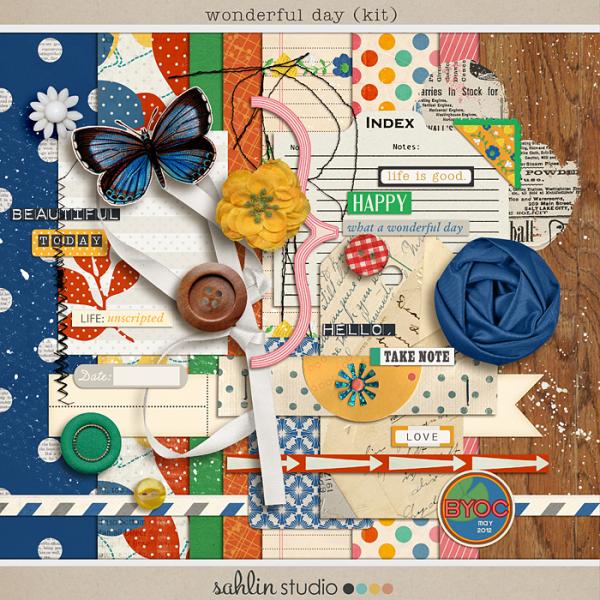 A Wonderful Day (Kit) by Sahlin Studio