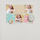 layout by kristasahlin featuring This Makes Me Smile Word Art by Sahlin Studio