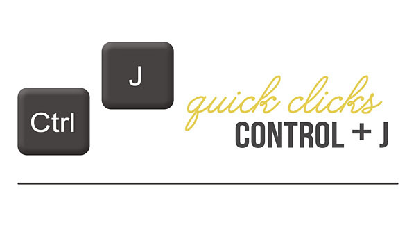 Tutorial | Photoshop Shortcut – Using Ctrl + J to COPY