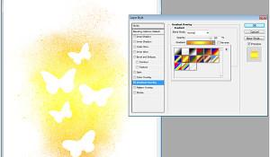 ombre gradient effect