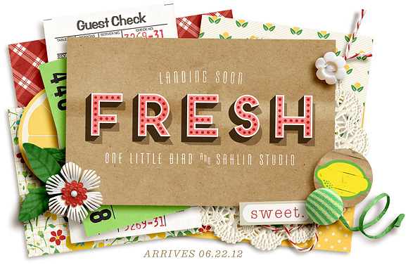 one little bird & sahlin studio fresh peek