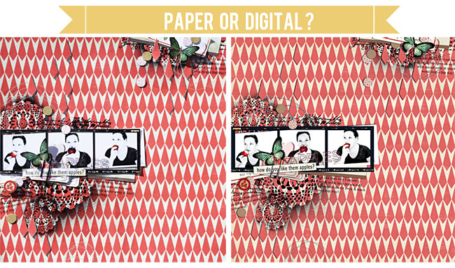 paper or digital layout