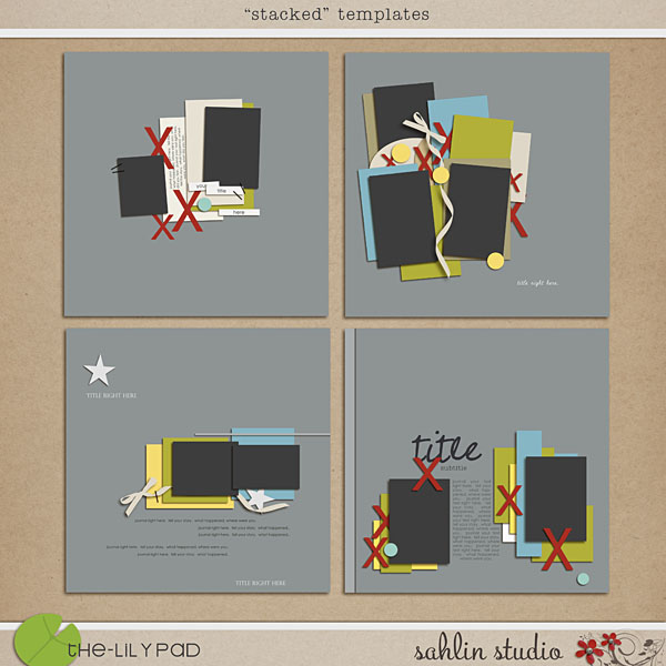 Stacked Templates by Sahlin Studio