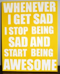 inspirational words - awesome