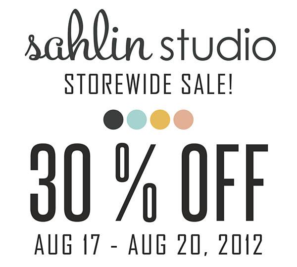 Sahlin Studio SALE